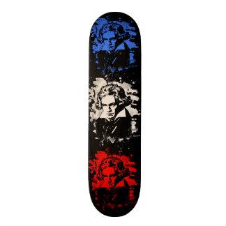 Ludwig van Beethoven tributes - bleached Skateboard Deck