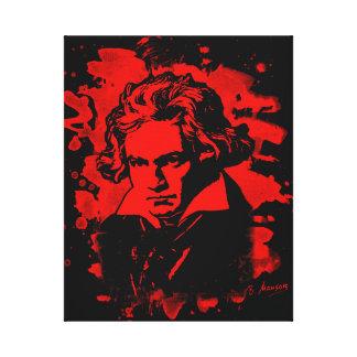 Ludwig van Beethoven tributes (talk) Canvas Print