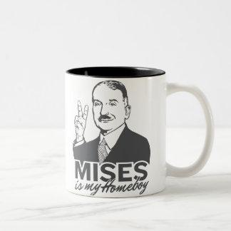 Ludwig von Mises es mi taza del Homeboy