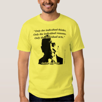 Ludwig von Mises - Human Action Tee Shirts