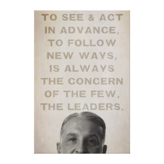 Ludwig von Mises Leaders Canvas Print