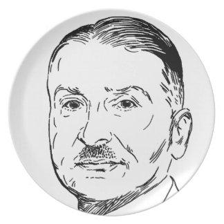 Ludwig von Mises Plate
