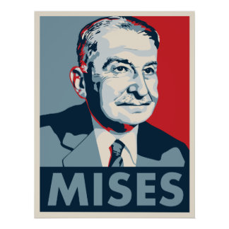 Ludwig von Mises Póster