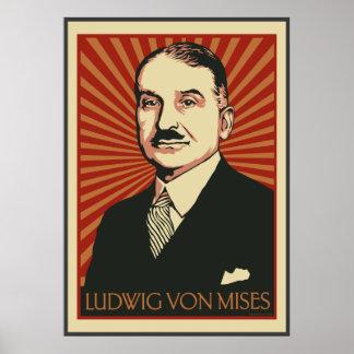 Ludwig von Mises Poster 2009