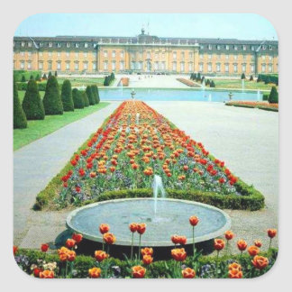 Ludwigsburg Castle Germany Square Sticker
