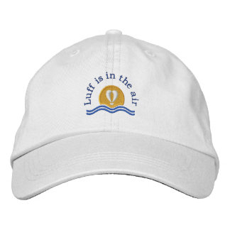 Luffers Sunset_blue type Luff is in the air Embroidered Hat