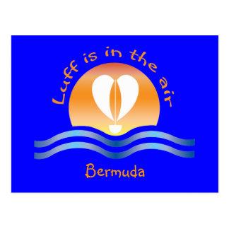 Luffers Sunset_Luff en la postal de Bermudas del