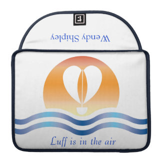 Luffers Sunset_Luff is in the air 2 personalized Sleeve For MacBook Pro
