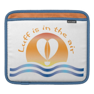 Luffers Sunset_Luff is in the air iPad Sleeves