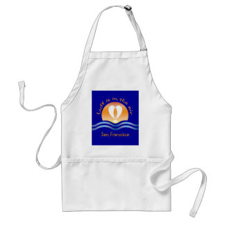 Luffers Sunset_Luff is in the air San Francisco Adult Apron