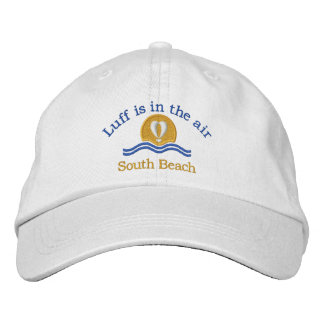 Luffers Sunset_Luff is in the air South Beach Embroidered Hat