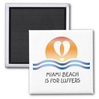 Luffers Sunset_Miami Beach magnet