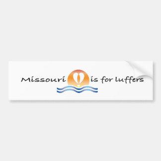 Luffers Sunset_Missouri bumper sticker