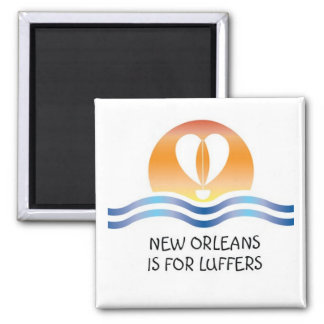 Luffers Sunset_New Orleans magnet