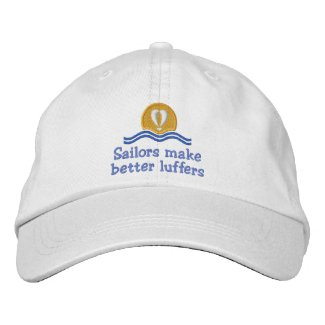 Luffers Sunset_Sailors Make Better embroideredhat