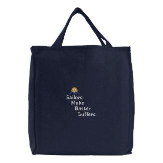 Luffers Sunset_Sailors Make Better v.2 embroideredbag