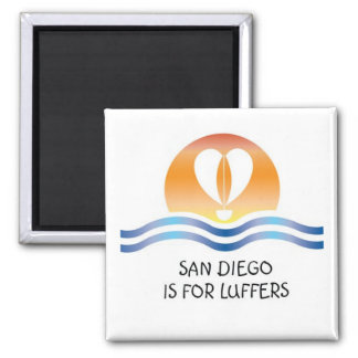 Luffers Sunset_San Diego magnet