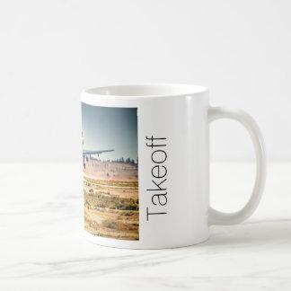 Lufthansa takeoff coffee mug