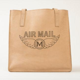 Luftpost Airmail & a Monogram Tote