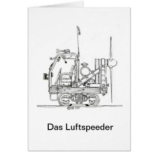 Luftspeeder 712 tarjeta pequeña