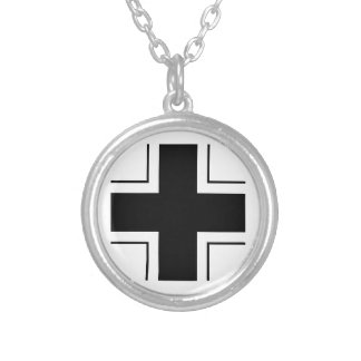 Luftwaffe Collar Silver Plated Necklace