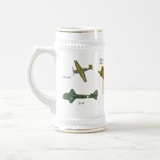 Luftwaffe Stein Jarra De Cerveza