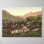 Lugano, Bellinzona, Tessin, Switzerland vintage Ph Posters