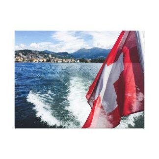 Lugano Switzerland Canvas