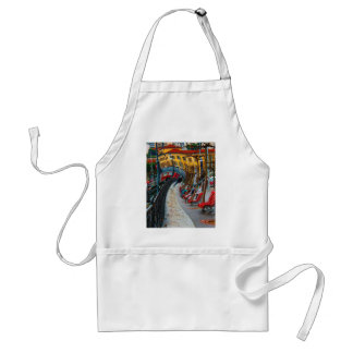 Lugano Switzerland Gifts and Apparel Adult Apron