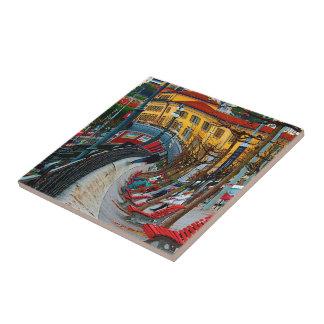 Lugano Switzerland Gifts and Apparel Ceramic Tiles