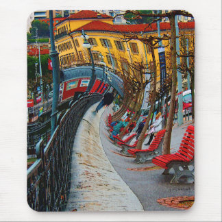 Lugano Switzerland Gifts and Apparel Mouse Pads