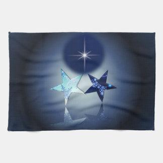Lugar astral - estrella del norte toalla de mano