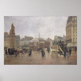 Lugar Clichy, París, 1896 del La Póster