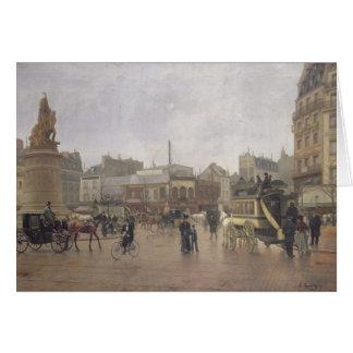 Lugar Clichy, París, 1896 del La Tarjeta De Felicitación
