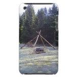 Lugar de descanso del bosque iPod touch Case-Mate carcasa