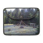 Lugar de descanso del bosque fundas para macbook pro