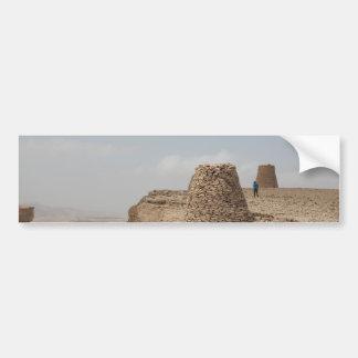 Lugar de enterramiento antiguo de Omán Pegatina Para Auto