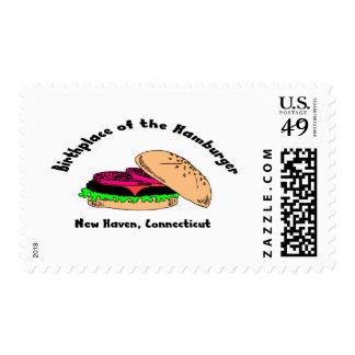 Lugar de nacimiento de la hamburguesa sello
