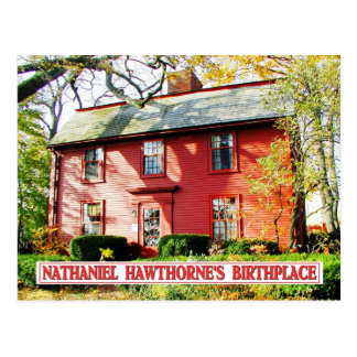 Lugar de nacimiento de Nathaniel Hawthorne, Salem, Tarjetas Postales