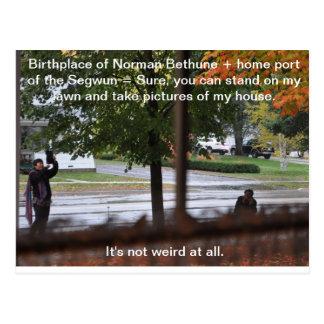 Lugar de nacimiento de Norman Bethune Postal