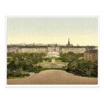 Lugar de Schwarzenberg, Viena, Austro-Hungría P ra Tarjetas Postales