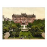 Lugar de Victoria, Stettin, obra clásica Photochro Postal