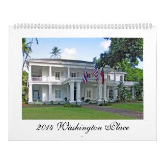 Lugar de Washington, la mansión del gobernador de  Calendario
