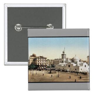 Lugar del gobierno, vintage Photoch de Argel, Arge Pin