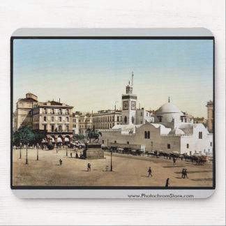 Lugar del gobierno, vintage Photoch de Argel, Arge Tapete De Ratón