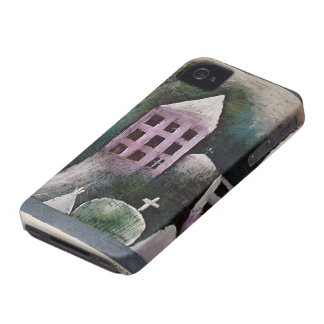 Lugar destruido Klee- de Paul iPhone 4 Case-Mate Coberturas