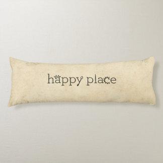 lugar feliz almohada