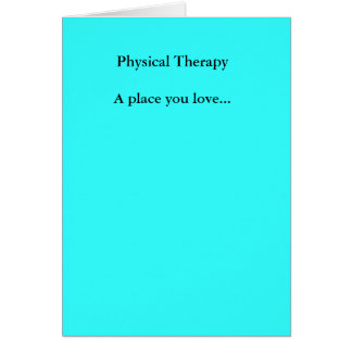Lugar físico de TherapyA que usted ama… Tarjetas