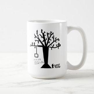 Lugar frecuentada en taza colgante del árbol