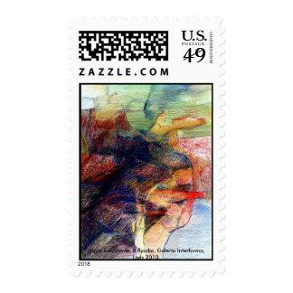 Lugar inexistente postage